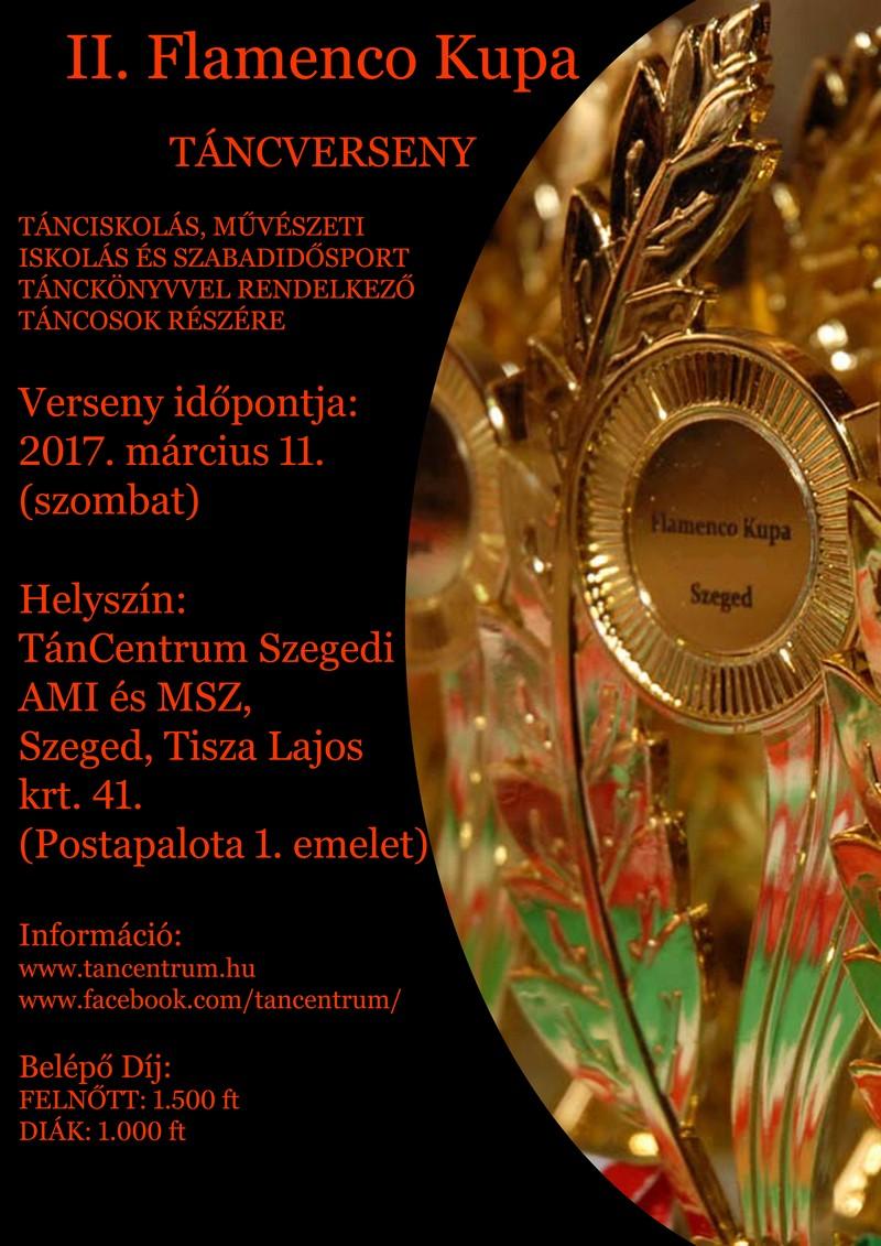 II. Flamenco Kupa táncverseny versenykiírás