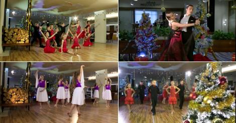A Szegedi Városi Televízió Karácsonyi Körút című műsorában táncoltunk